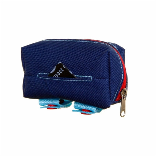 Dog Owners Outdoor Gear 890377 Walkie Tidy Bag Pouch, Navy Perspective: front