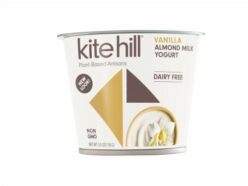 Kite Hill Vanilla Almond Mllk Yogurt Perspective: front
