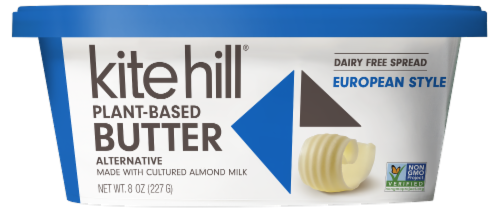 Kite Hill European Style Plant-Based Butter Spread Perspective: front