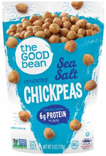 The Good Bean Sea Salt Crunchy Chickpeas Perspective: front