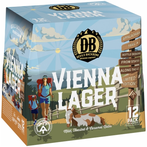 Devils Backbone Brewing Company Vienna Lager Perspective: front