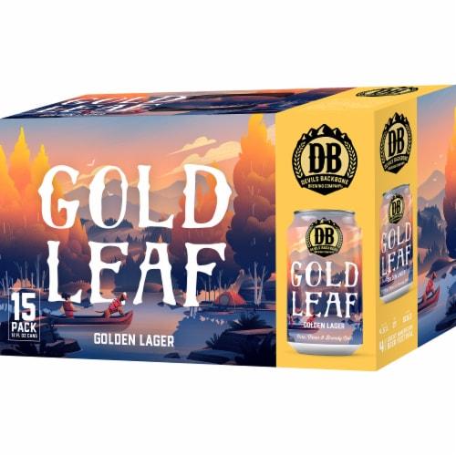 Devils Backbone Brewing Company Gold Leaf Lager Perspective: front
