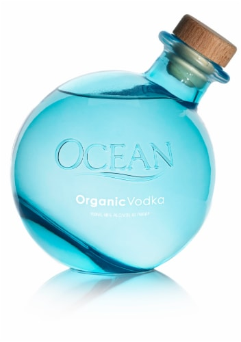 Ocean Organic Vodka Perspective: front