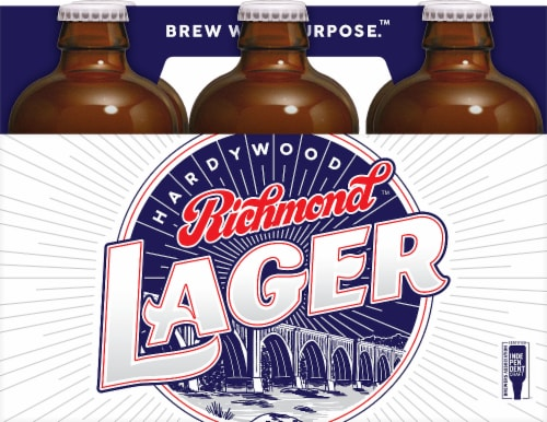 Hardywood Richmond Lager Perspective: front