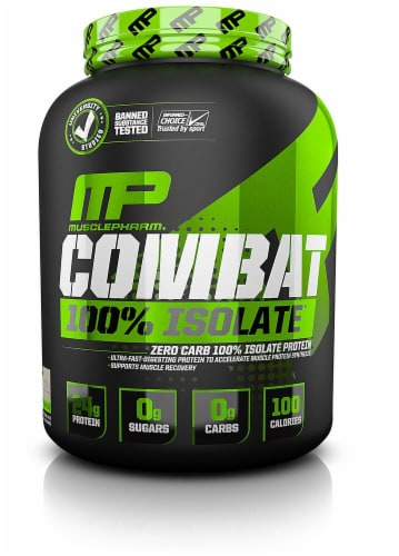 MusclePharm Vanilla Combat 100% Isolate Perspective: front
