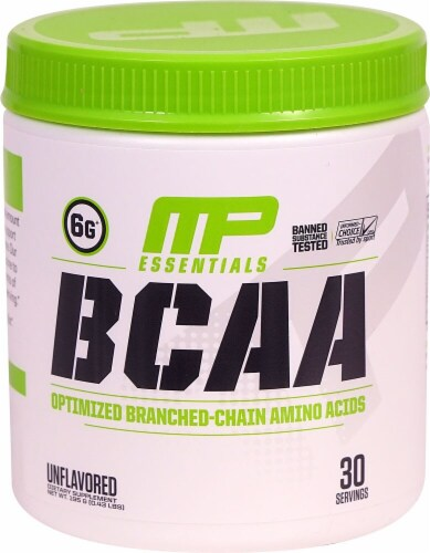 MusclePharm  BCAA Essentials Powder   Unflavored Perspective: front