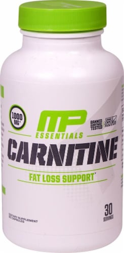MusclePharm  Essentials Carnitine Perspective: front