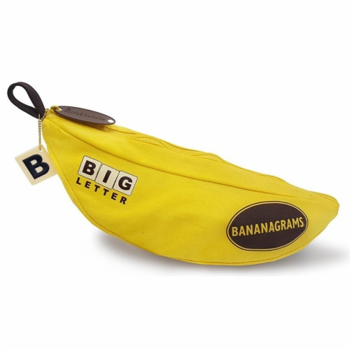 Bananagrams BNABLE001 Big Letter Board Game Perspective: front