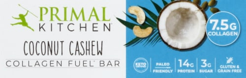 Primal Kitchen Coconut Cashew Bar Perspective: front
