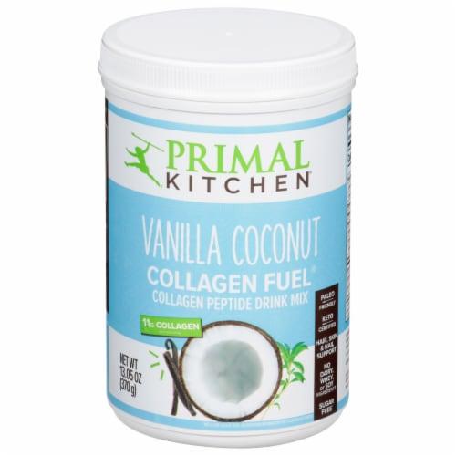 Primal Kitchen Collagen Fuel Vanilla Coconut Collagen Peptide Drink Mix Perspective: front