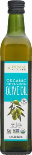 Primal Kitchen Organic Extra Virgin Olive Oil Perspective: front
