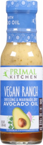 Primal Kitchen Vegan Ranch Dressing & Marinade Perspective: front