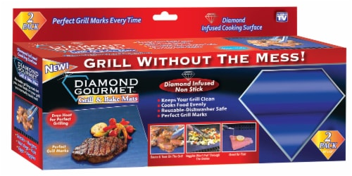 Diamond Gourmet Grill & Bake Mat Perspective: front