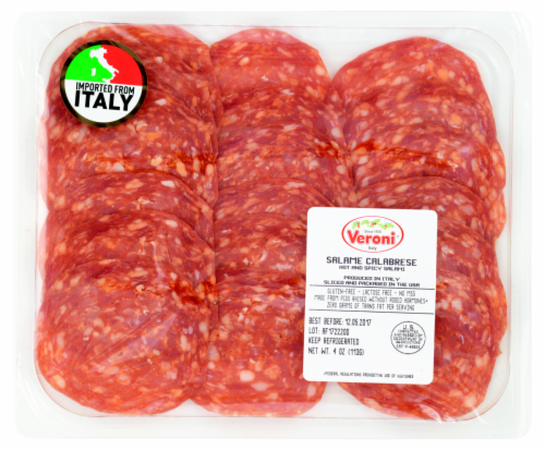 Veroni Italy Salame Calabrese Perspective: front