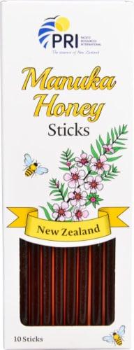 PRI  Manuka Honey On The Go Sticks Perspective: front