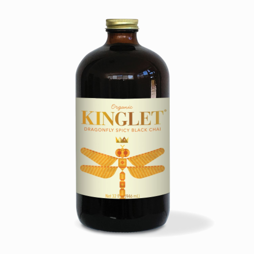 Kinglet Dragpmfly Spicy Black Chai Tea Perspective: front