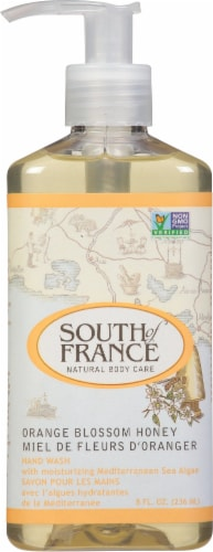 South of France Hand Wash Orange Blossom Honey Perspective: front