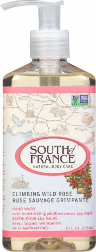South of France Hand Wash Climbing Wild Rose Perspective: front