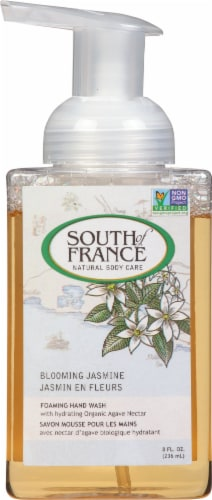 South of France Foaming Hand Wash Blooming Jasmine Perspective: front