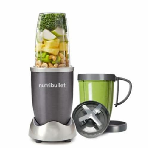 Magic Bullet NutriBullet Blending System - Black/Silver Perspective: front