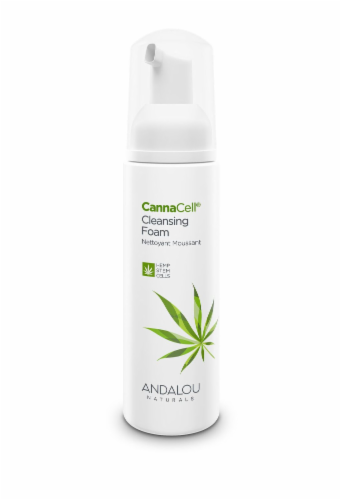 Andalou Naturals CannaCell Cleansing Foam Perspective: front