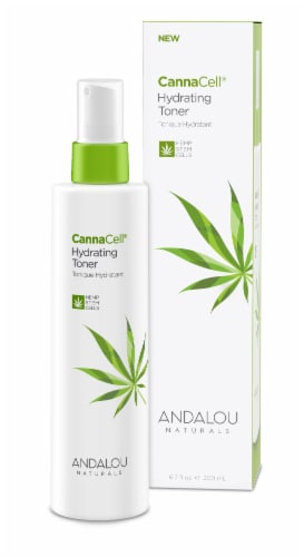 Andalou Naturals CannaCell Hydrating Toner Perspective: front