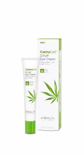 Andalou Naturals CannaCell D.Puff Eye Cream Perspective: front