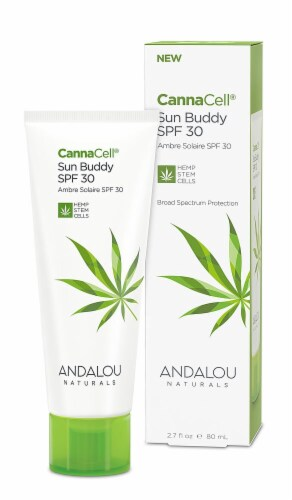Andalou Naturals CannaCell Sun Buddy SPF 30 Perspective: front