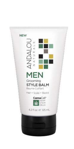 Andalou Naturals Men Grooming Style Balm Perspective: front