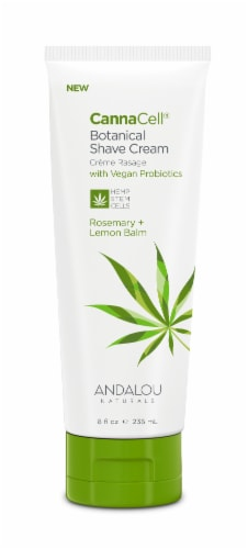 CannaCell Rosemary+Lemon Balm Botanical Shave Cream Perspective: front
