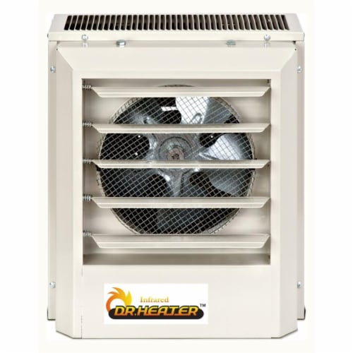 Dr Heater Usa DR-P350 480V 5KW Three Phase Unit Heater Perspective: front