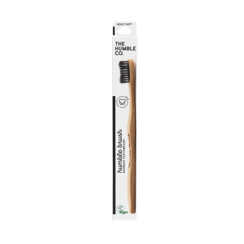 The Humble Co. Bamboo Toothbrush Perspective: front