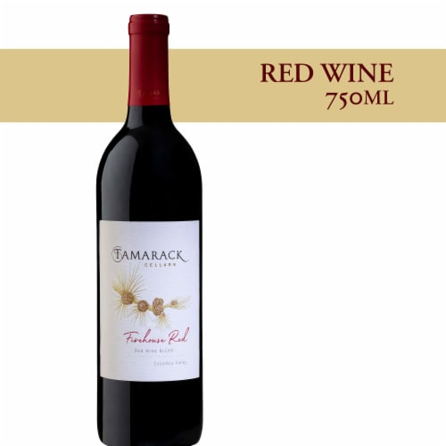 Tamarack Cellars Firehouse Red Wine Perspective: front