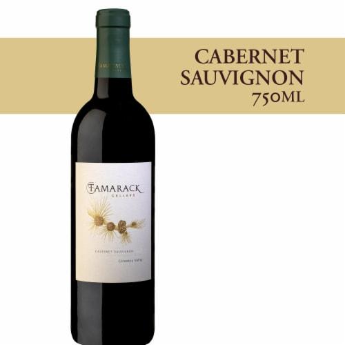 Tamarack Cellars Cabernet Sauvignon Red Wine Perspective: front