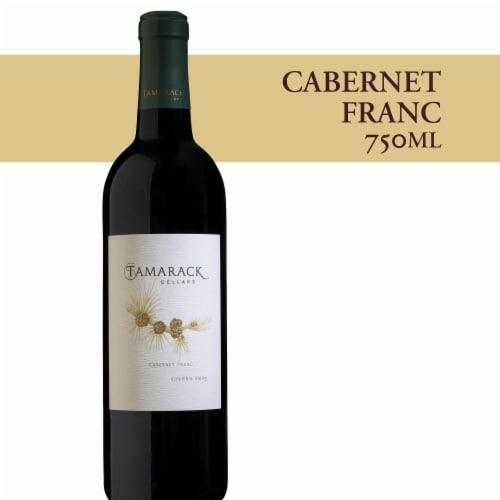 Tamarack Cellars Cabernet Franc Red Wine Blend Perspective: front