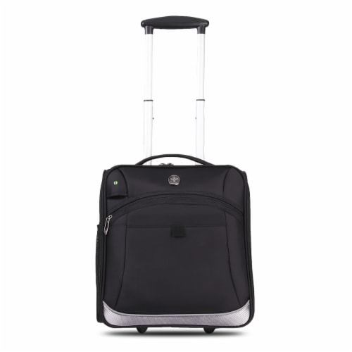 """Basel 14"""" Luggage Black SD4000 Perspective: front"""