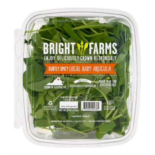 Bright Farms Baby Arugula Perspective: front