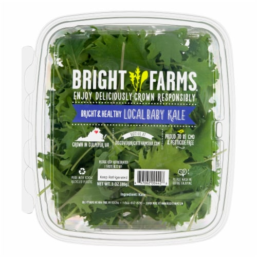Bright Farms Baby Kale Perspective: front