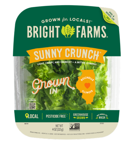 Bright Farms Sunny Crunch Salad Perspective: front
