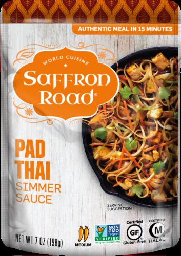 Saffron Road Pad Thai Simmer Sauce Perspective: front