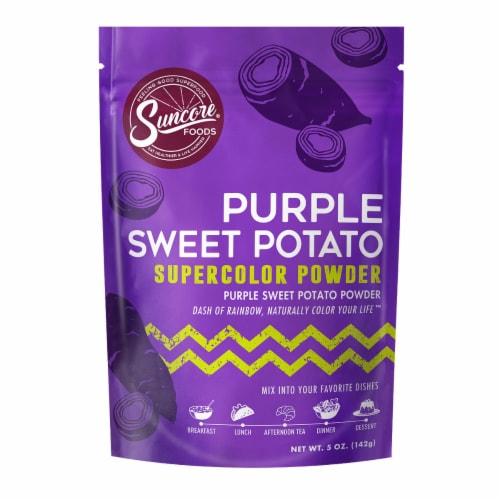 Suncore Foods Organic Purple Sweet Potato Supercolor Powder Perspective: front