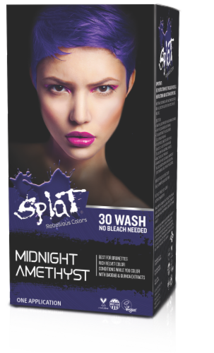 Splat Midnight Amethyst Hair Dye Perspective: front