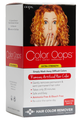Color Oops Extra Strength Hair Color Remover Perspective: front