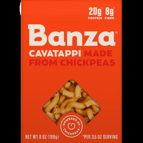 Banza Cavatappi Chickpea Pasta Perspective: front