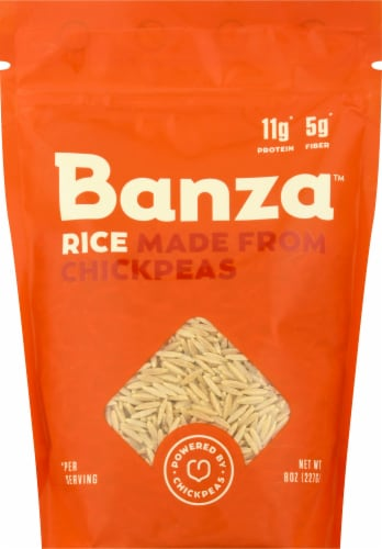 Banza Chickpea Rice Perspective: front