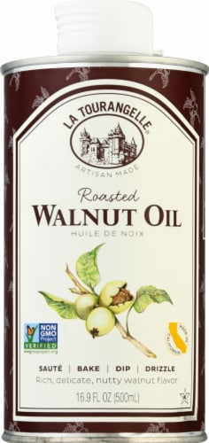 La Tourangelle Roasted Walnut Oil Perspective: front