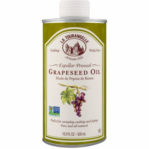 La Tourangelle Grapeseed Oil Perspective: front