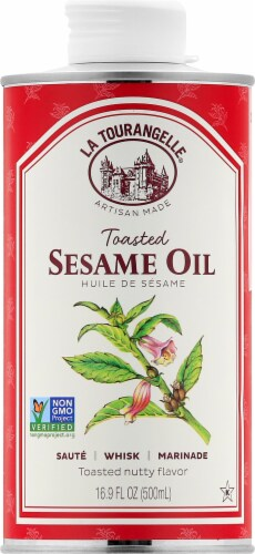 La Tourangelle Toasted Sesame Oil Perspective: front