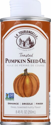 La Tourangelle Toasted Pumpkin Seed Oil Perspective: front
