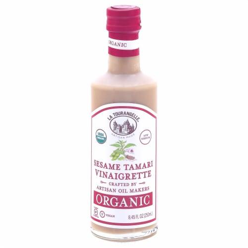 La Tourangelle Organic Sesame Tamari Vinaigrette Perspective: front
